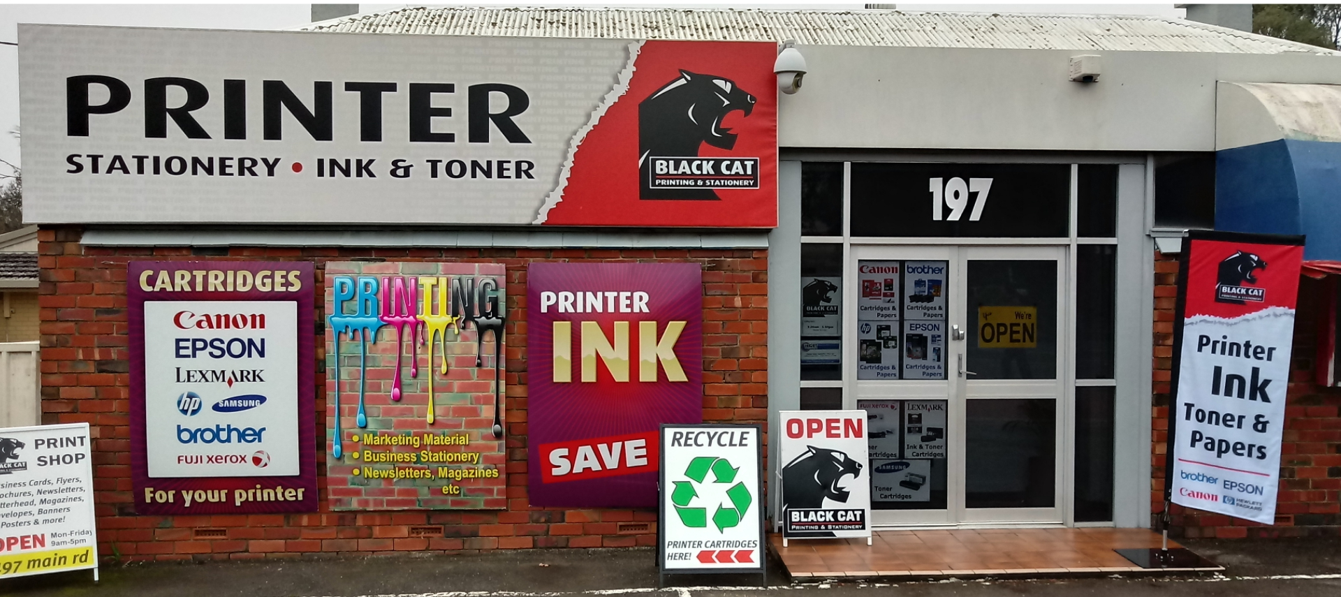 Black Cat Printing & Stationery